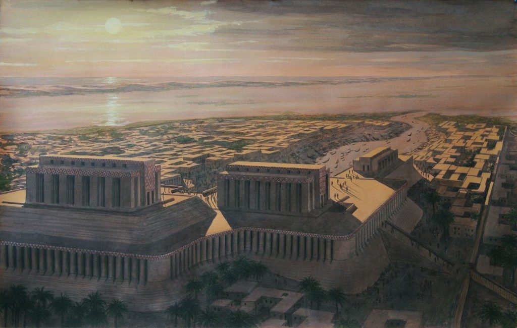 The city of Eridu