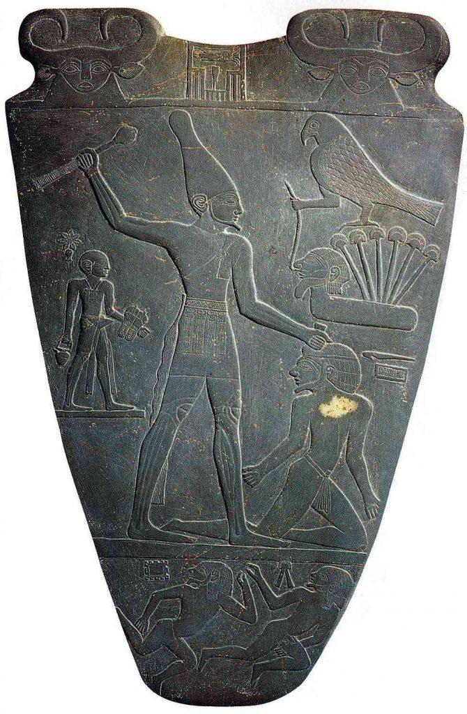 The pharaoh Narmer