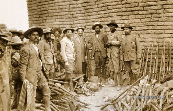 Huertist fighters, circa 1913