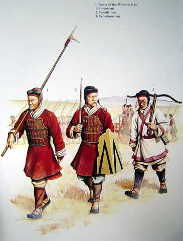 Soldiers of the Han dynasty