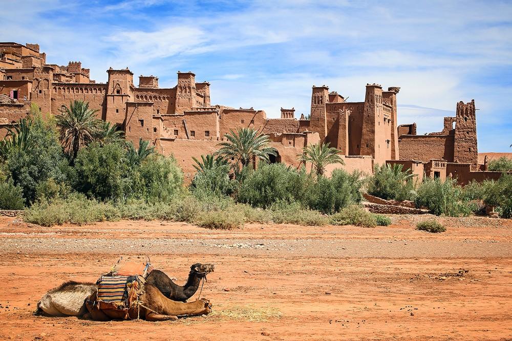 The Berber city of Aït Benhaddou, in Morocco
